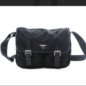 Authentic Prada Sport Nylon Messenger Bag